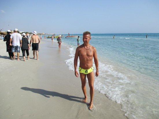 Eden Village El Borj : Io in riva al mare