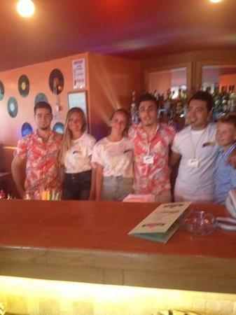 Club Anastasia: tee-shirt signing Orange Bar