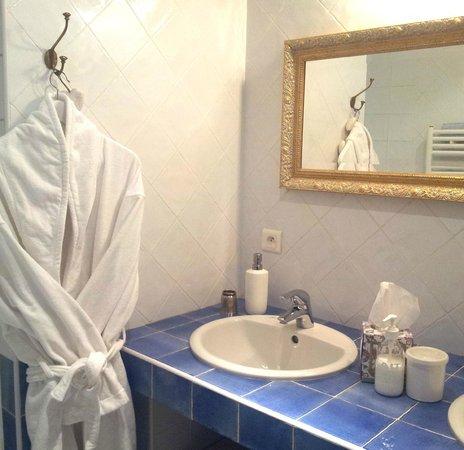 Salle de douche à l'italienne, Le trésor d'Alice, Quincié en Beaujolais, 69