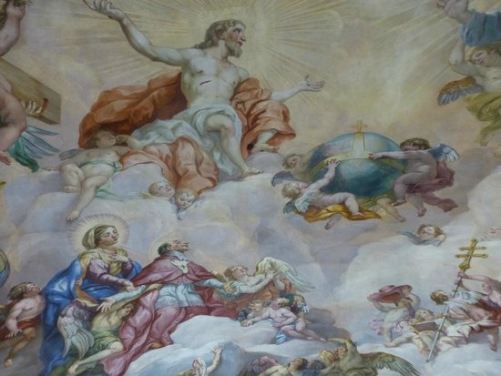 St. Charles's Church (Karlskirche): Fresque de Rottmayr