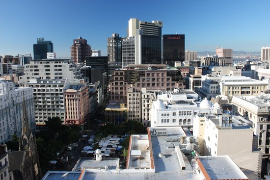Mandela Rhodes Place Hotel: View from the balcony
