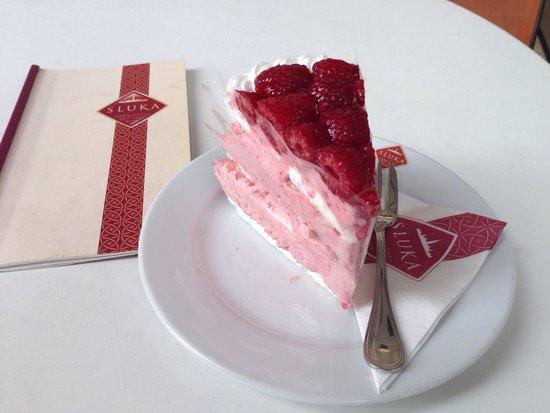Sluka Cafe Konditorei: Leckere Torte