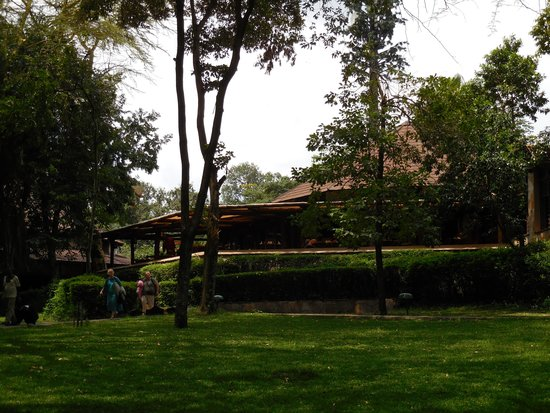 Sarova Mara Game Camp: View of the dining hall