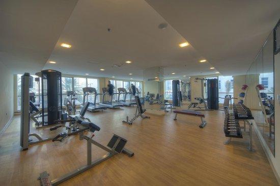 Marina View Hotel Apartments: Gym