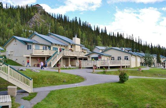 Denali Bluffs Hotel: réception et restaurant