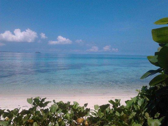 Tepanee Beach Resort : Tepanee private beach