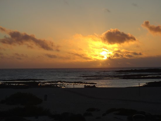 """Cotillo Sunset: That's why they are called the """"sunset apartments""""."""