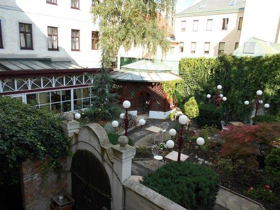 Altwienerhof: il giardino