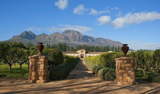 Stellenbosch, Sudafrica: Waterford Estate
