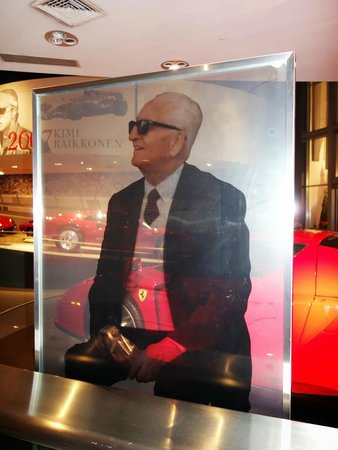 Ferrari World Abu Dhabi : Enzo Ferrari