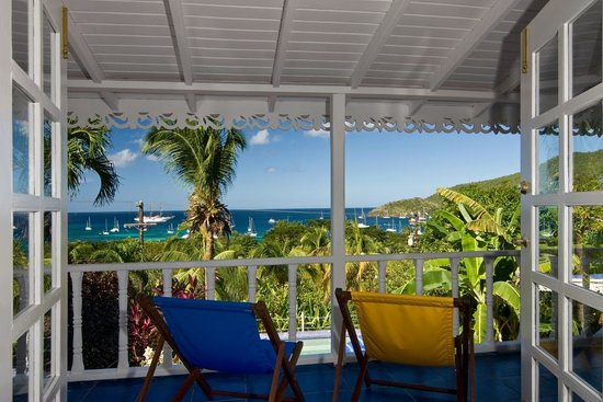 Orchard House: More beautiful views over Bequia