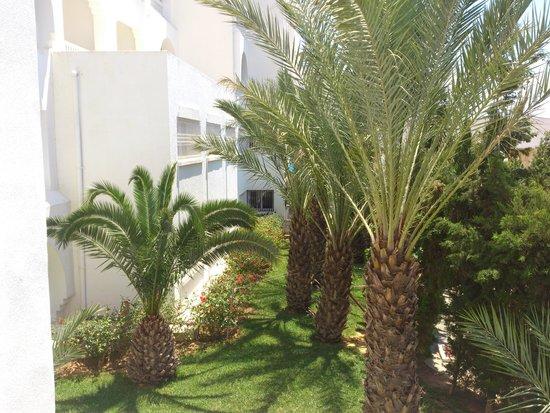 SENTIDO Aziza Beach Golf & Spa: garden view
