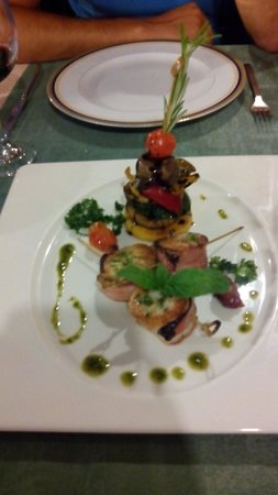 Casa do Pintor - Gourmet & Bistro : Vieiras buenisimas