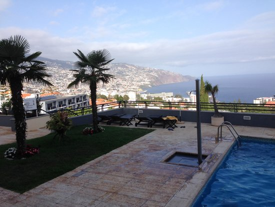 Madeira Panoramico Hotel : Blick auf Funchal