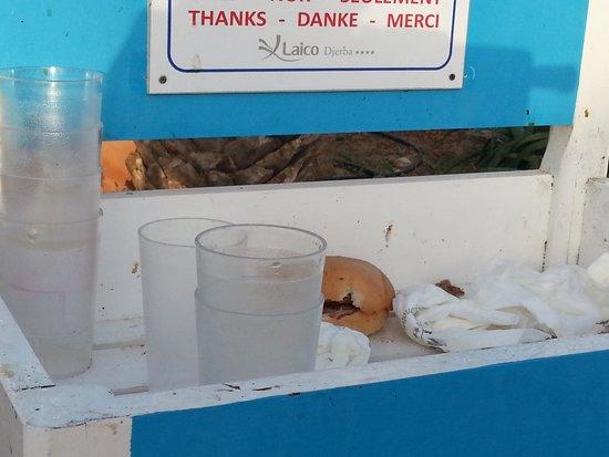 Winzrik Resort & Thalasso Djerba: vaisselle toujours propre et bien rangée surtout le matin