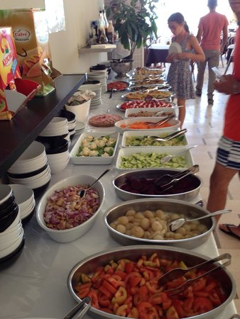 Hotel Prestige : Buffet inizio pranzo e cena