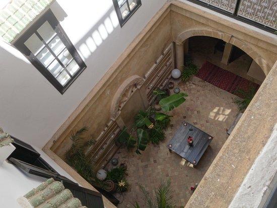 Dar Assalama: cour intérieure