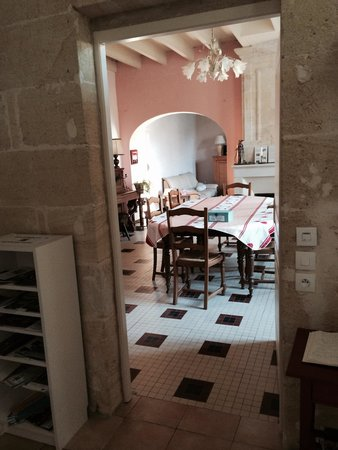 Chateau des Faures : Dining room