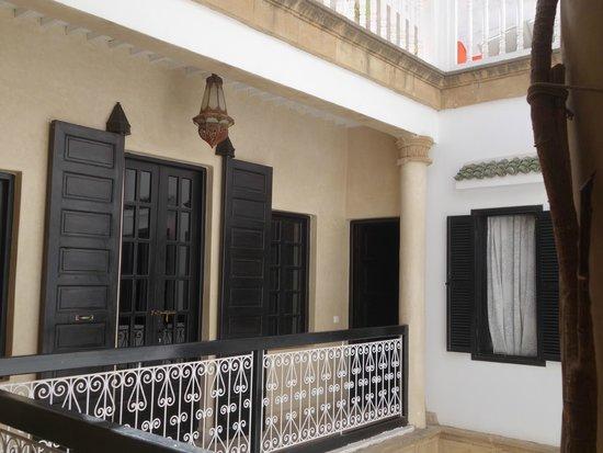Dar Assalama: accès aux chambres second étage