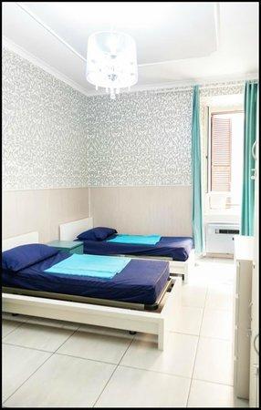 Four Seasons Hostel Rome: 4 Bed Dorm Ensuite