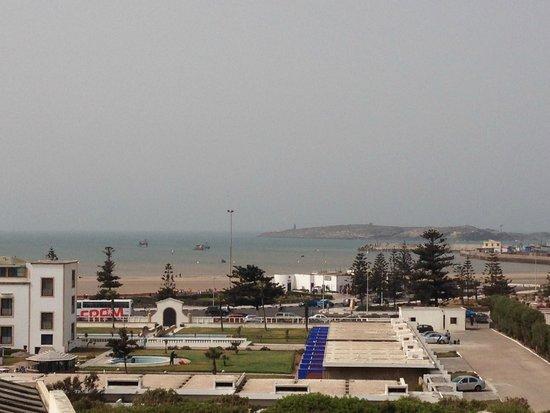 Dar Assalama: Vue de la terrasse