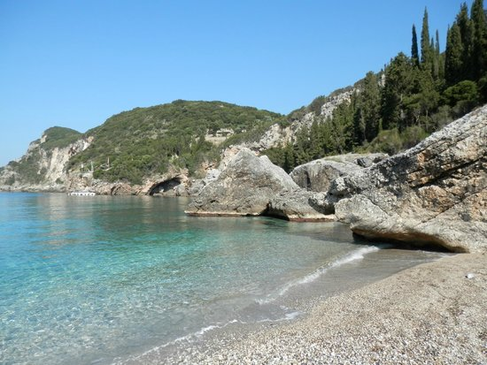 Dassia, Greece: Liapades beach