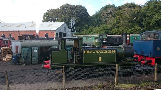 Isle of Wight Steam Railway: Steam power
