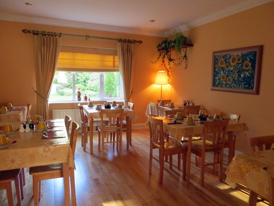 Amber Hill Bed and Breakfast: sala colazione