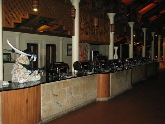 Royal Island Resort & Spa: Buffet Restaurant