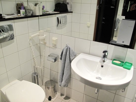 Clarion Hotel Stockholm: Il bagno