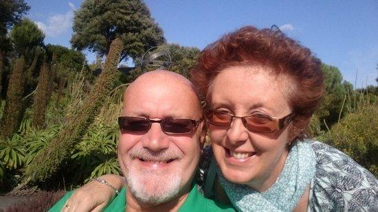 Ventnor Botanic Garden: Enjoying the sun