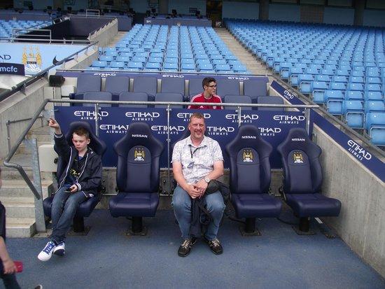 Etihad Stadium: Pitch side