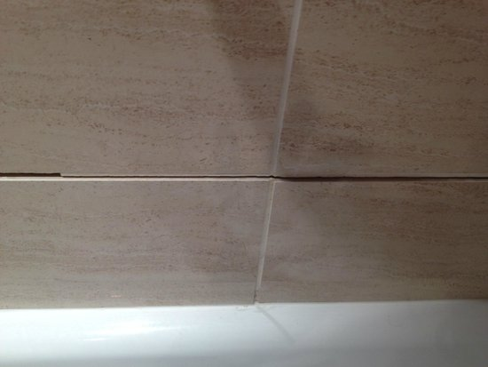 Park Inn by Radisson Cardiff City Centre: tiles with no grout