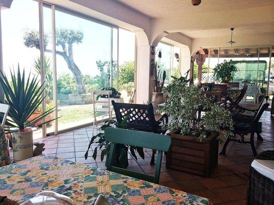 B&B A Casa di Nella: Veranda-portico