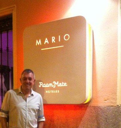 Room Mate Mario: La entrada