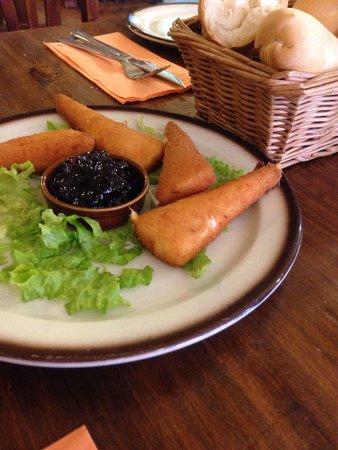 Bodeguita Canaria: Queso empanado
