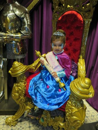 Harrods: Princess on Throne