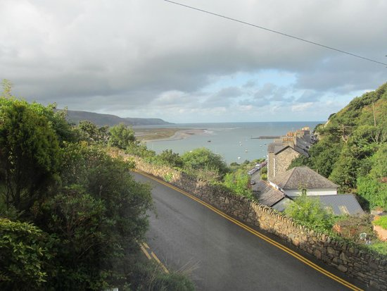 Bae Abermaw: View from communal area