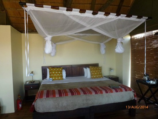 Ongava Lodge: the bedroom
