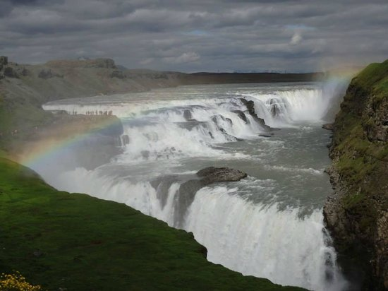 Gullfoss: AMAZING views!  A waterproof camera wouldn't hurt.