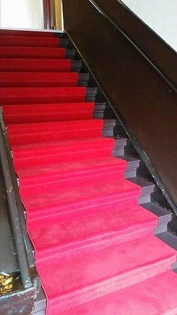 Hotel Patricia: Les escaliers rénovés !