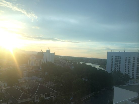 Pullman Kuching: View from the first deluxe room