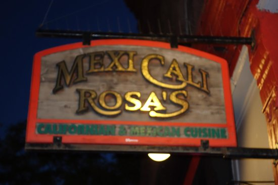 Mexi's: Sign outside