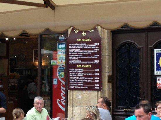 Brasserie Le Glacier : A glimpse of some of the delicious dishes