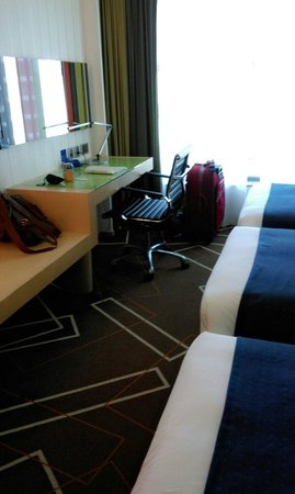 Holiday Inn Express HONG KONG KOWLOON EAST : 房間1