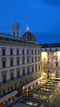 Hotel Pendini: View from room 405