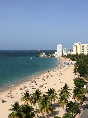 San Juan Water & Beach Club Hotel: View from the Roof Top Bar