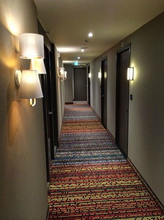 Best Western Premier Hotel Couture : One of our corridors