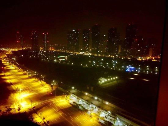 Orakai Songdo Park Hotel: 部屋からの夜景 静かで都会的です