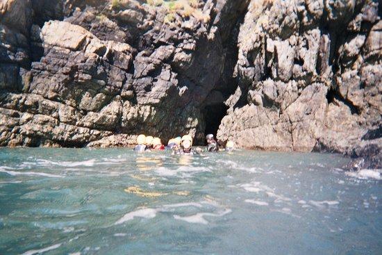 Preseli Venture: Cave Swimming